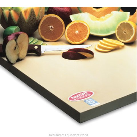 Notrax T45S4R12BF Cutting Board, Rubber