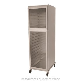 Nu-Vu HCR18 Cabinet, Enclosed, Bun / Food Pan