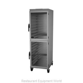 Nu-Vu HW-2G Cabinet, Enclosed, Bun / Food Pan