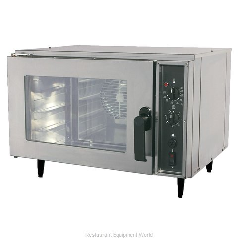 Nu-Vu NCO3 Convection Oven, Electric