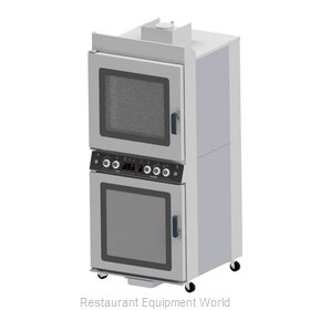 Nu-Vu QB-4/8 Convection Oven / Proofer, Electric