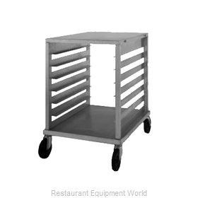 Nu-Vu SB-1 Prep Cart Pan Rack w Work Top