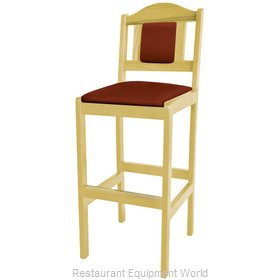Old Dominion 2316USB Appalachian Red Oak Bar Stool