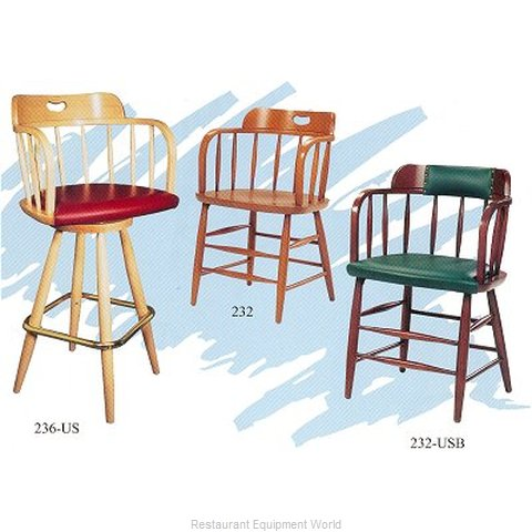Old Dominion 236US Beachwood Bar Stool