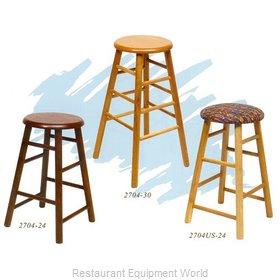 Old Dominion 2704US-24 Oak Bar Stool