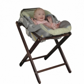 Old Dominion A-2 Walnut Infant Carrier Stand