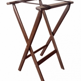 Old Dominion MTS-2 Tray Stand - Dark Walnut Color