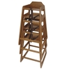 Old Dominion S-1 Stackable Wooden High Chair -Natural Color (Small 1)