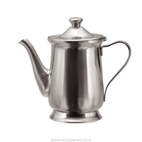 Oneida Crystal 30500261A Coffee Pot Teapot Stainless Steel Holloware