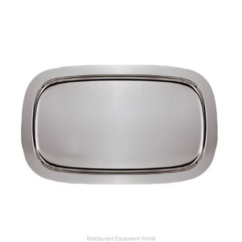 Oneida Crystal 80562136A Serving & Display Tray, Metal (Magnified)