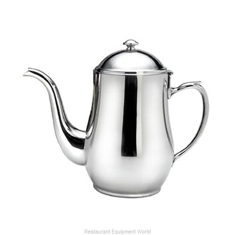 Oneida Crystal 87500671A Coffee Pot Teapot Stainless Steel Holloware