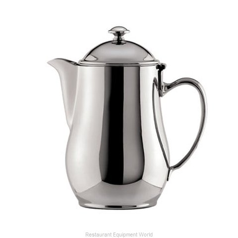 Oneida Crystal 87510661A Coffee Pot Teapot Silverplate Holloware