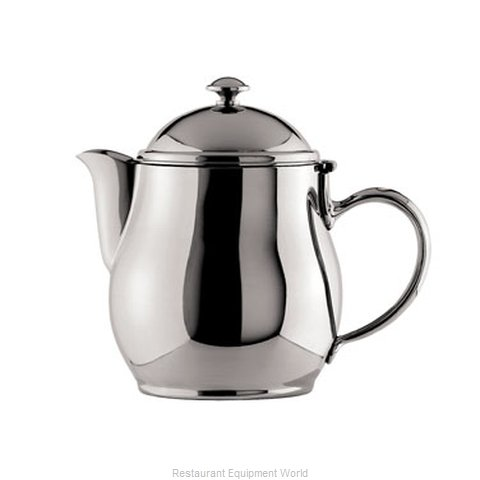 Oneida Crystal 87514821A Coffee Pot Teapot Silverplate Holloware