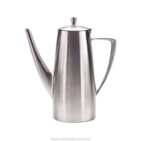 Oneida Crystal 88000661A Coffee Pot Teapot Stainless Steel Holloware