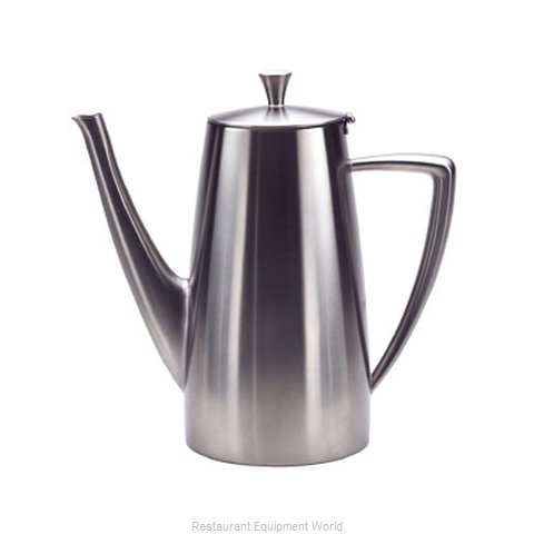 Oneida Crystal 88000671A Coffee Pot Teapot Stainless Steel Holloware