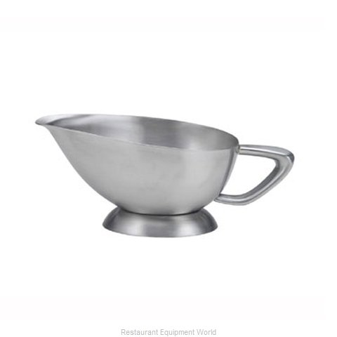 Oneida Crystal 88004131A Gravy Sauce Boat (Magnified)