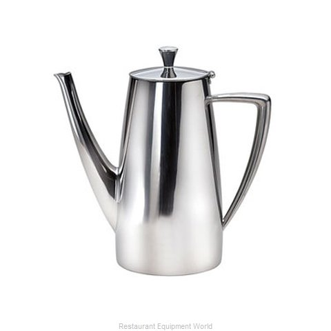 Oneida Crystal 88100671A Coffee Pot Teapot Stainless Steel Holloware