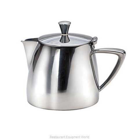 Oneida Crystal 88104821A Coffee Pot Teapot Stainless Steel Holloware
