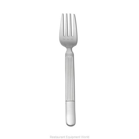 Oneida Crystal B986FDNF Fork Dinner (Magnified)
