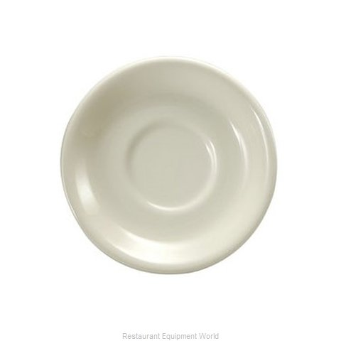 Oneida Crystal F1500514500 China Saucer (Magnified)