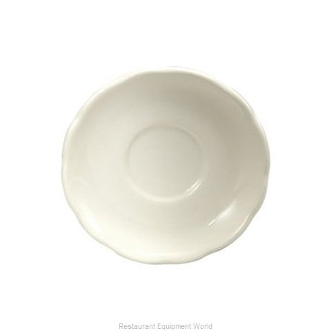 Oneida Crystal F1560018500 China Saucer (Magnified)