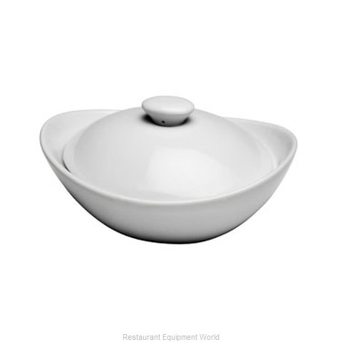 Oneida Crystal F5000000676 China Casserole Dish (Magnified)