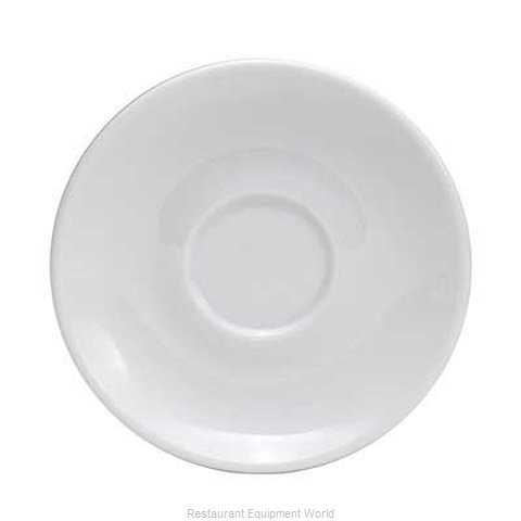 Oneida Crystal F5060000500 China Saucer (Magnified)