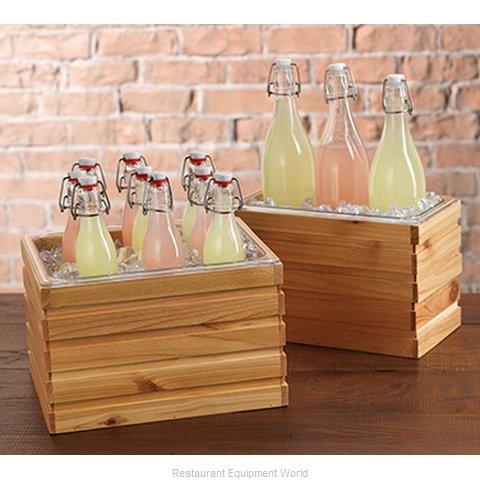 Oneida Crystal FRC12106 Bread Basket / Crate, Wood