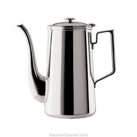 Oneida Crystal J0010661A Coffee Pot Teapot Stainless Steel Holloware