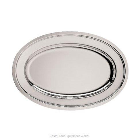Oneida Crystal J0012771A Platter, Stainless Steel