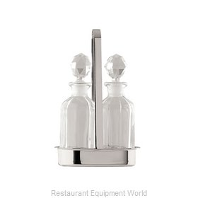 Oneida Crystal J0013321A Oil & Vinegar Cruet Set
