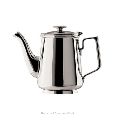 Oneida Crystal J0014801A Coffee Pot Teapot Stainless Steel Holloware