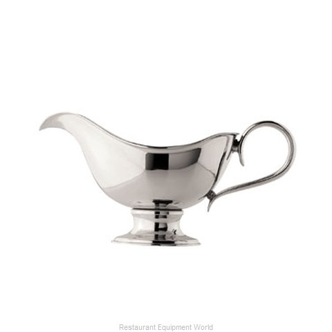 Oneida Crystal J0064111A Gravy Sauce Boat (Magnified)