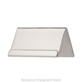 Oneida Crystal J0065001A Tabletop Sign, Tent / Card