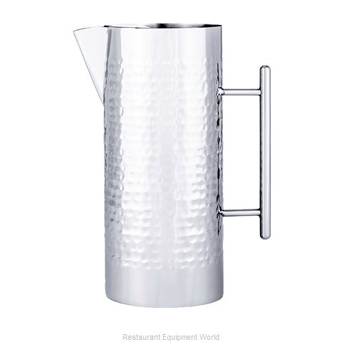 Oneida Crystal J0853000A Pitcher, Stainless Steel