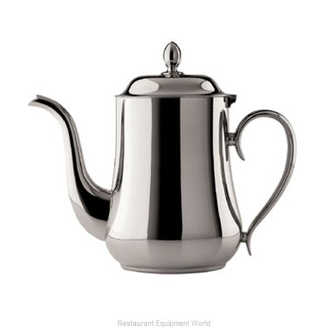 Oneida Crystal K0060662A Coffee Pot Teapot Silverplate Holloware (Magnified)