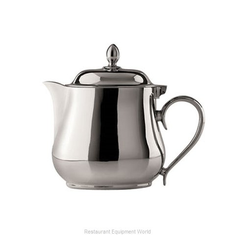 Oneida Crystal K0064822S Coffee Pot Teapot Silverplate Holloware (Magnified)
