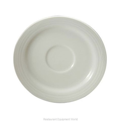 Oneida Crystal N7020000500 China Saucer (Magnified)