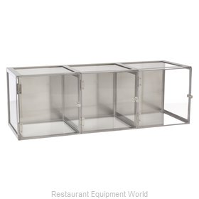 Oneida Crystal PATRTRP Display Case, Pastry, Countertop (Clear)