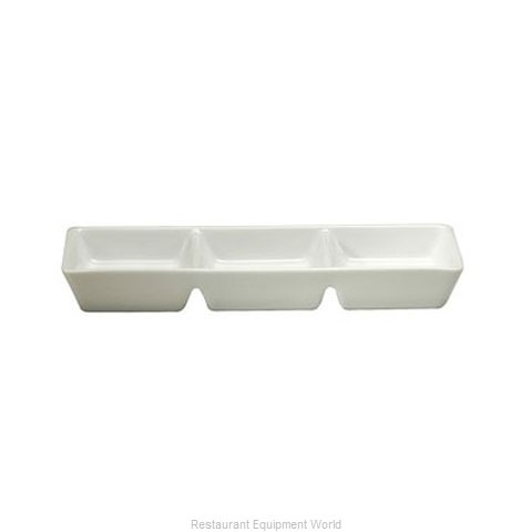 Oneida Crystal R4020000945 Plate/Platter, Compartment, China