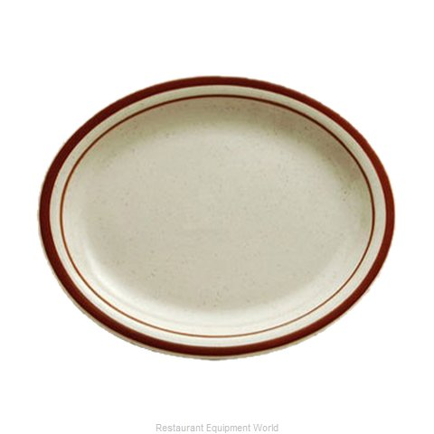 Oneida Crystal R4238026345 China Platter (Magnified)