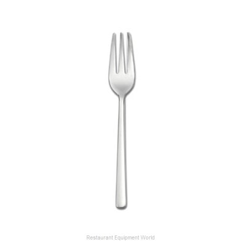 Oneida Crystal T673FSLF Fork Pastry (Magnified)