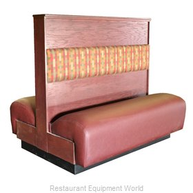 Original Wood Seating 2DC-D-42 P7/COM Booth