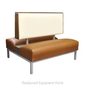 Original Wood Seating BQ-D-36 GR6/COM Booth
