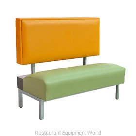 Original Wood Seating BQ-S-36 GR7 Booth