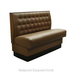 Original Wood Seating BT-S-48 GR9 Booth