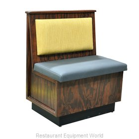 Original Wood Seating DEM-S-48 P7/COM Booth
