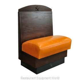 Original Wood Seating LA-S-48 GR8 Booth