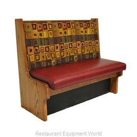 Original Wood Seating RH-S-48 GR9 Booth