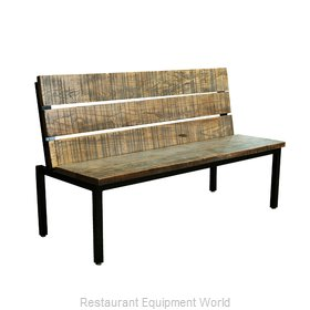 Original Wood Seating TOR-S-36 Booth